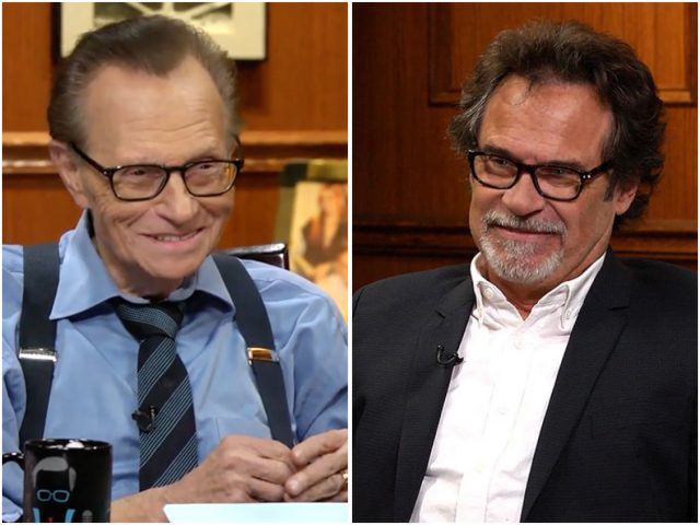 Larry King and Dennis Miller Team Up for Comedy Tour